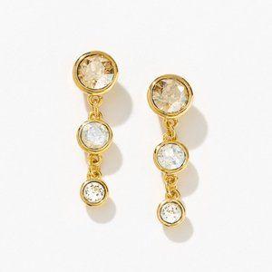 Fizzy Earrings, Golden